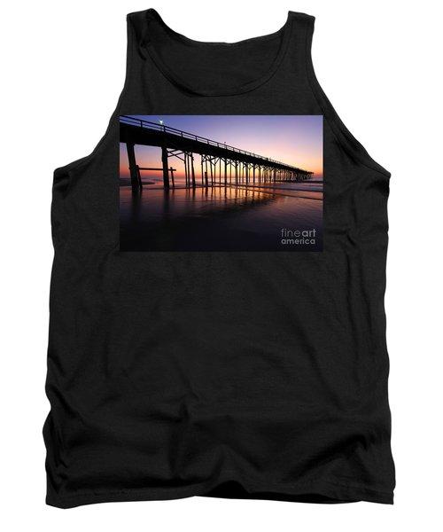 North Carolina Beach Pier - Sunrise Tank Top