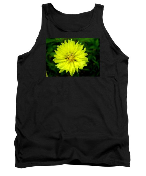 Tank Top featuring the photograph Wild Carolina Desert Chicory by William Tanneberger