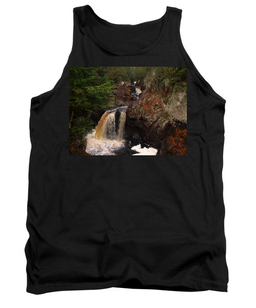 Cascade River Tank Top by James Peterson