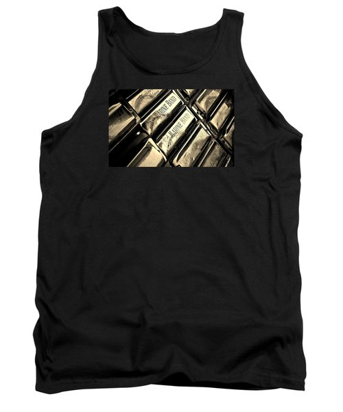 Case Of Harmonicas  Tank Top by Chris Berry
