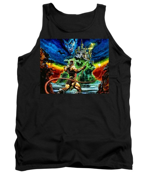 Castlevania Tank Top by Joe Misrasi