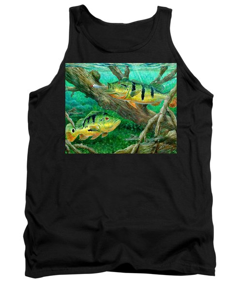 Catching Peacock Bass - Pavon Tank Top