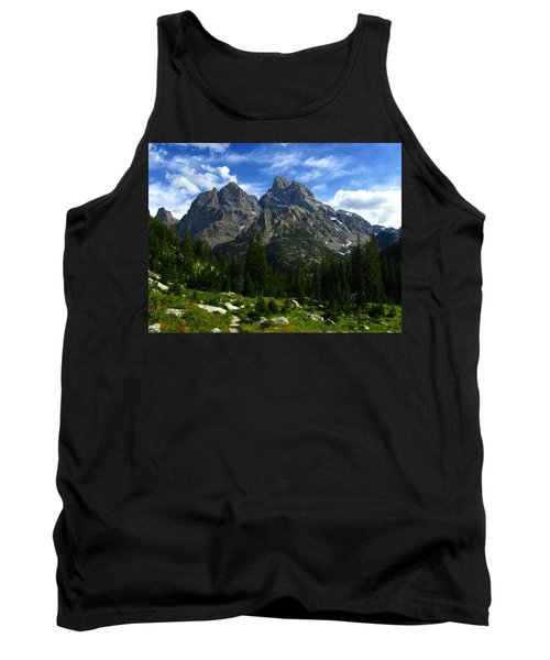 Tank Top featuring the photograph Cathedral Group From The Northwest by Raymond Salani III