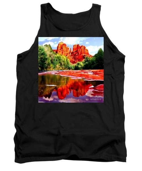 Cathedral Rock Sedona Arizona Tank Top