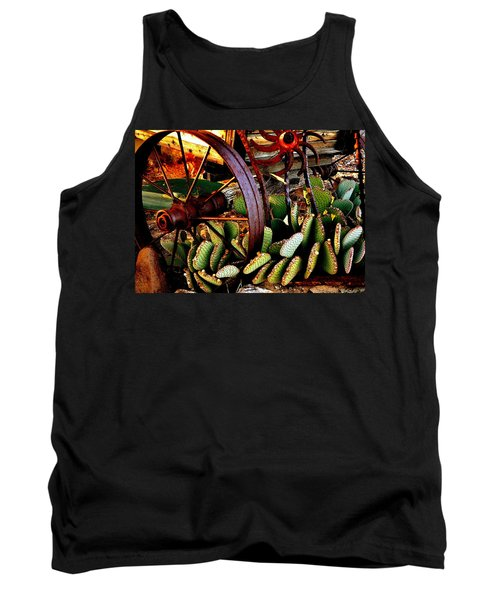 Tank Top featuring the photograph Caught In A Cactus Patch-sold by Antonia Citrino