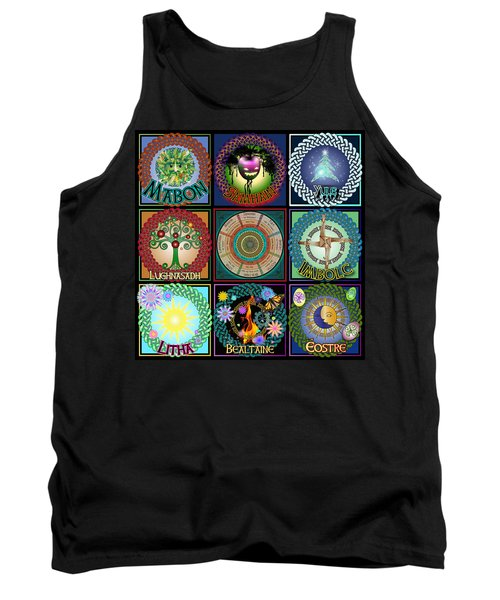 Celtic Festivals Calendar Tank Top