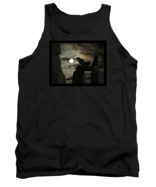 Tank Top featuring the photograph Celtic Nights by I'ina Van Lawick