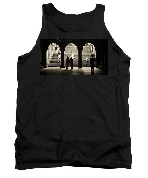 Central Park Bride Tank Top by Madeline Ellis