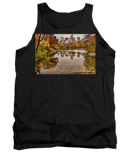 Central Park In The Fall New York City Tank Top by Sabine Jacobs