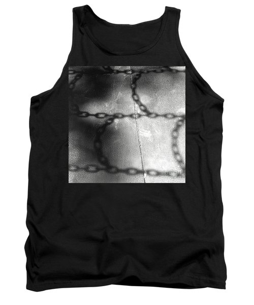 Tank Top featuring the photograph Chain Ladder by James Aiken