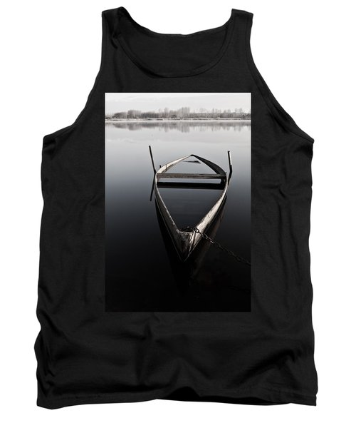 Chained In Time Tank Top