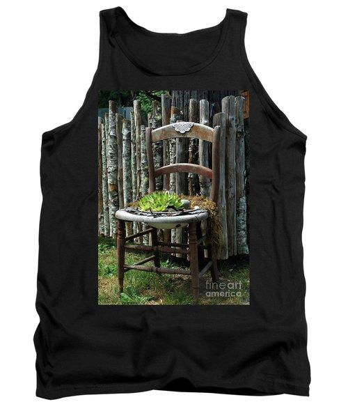 Chair Planter Tank Top