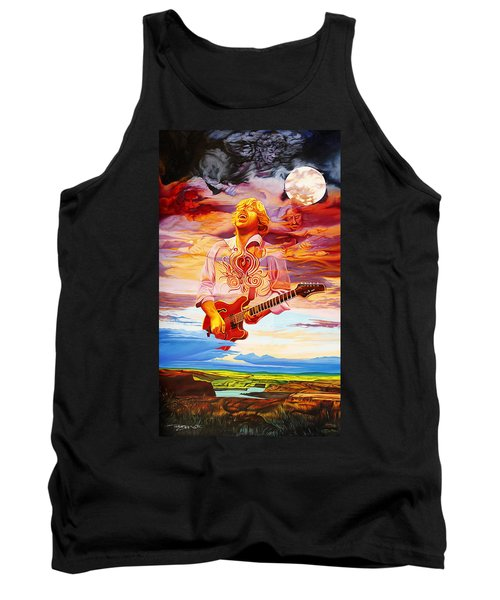 Channeling The Cosmic Goo At The Gorge Tank Top