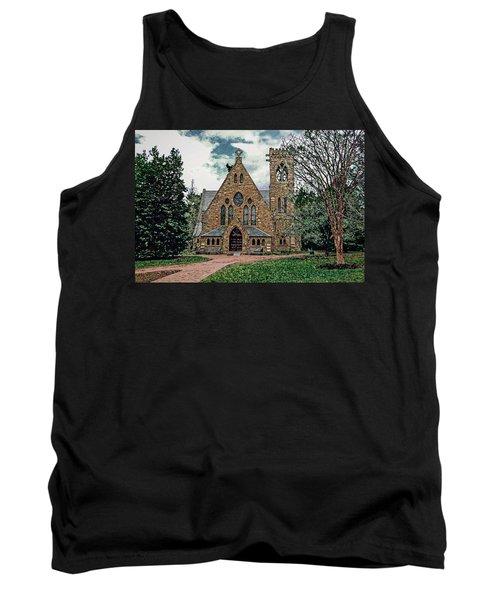 Chapel At University Of Virginia Tank Top