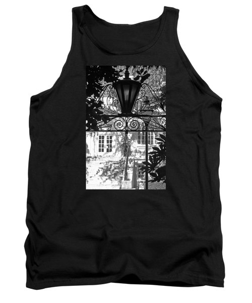 Charleston Gateway II In Black And White Tank Top by Suzanne Gaff