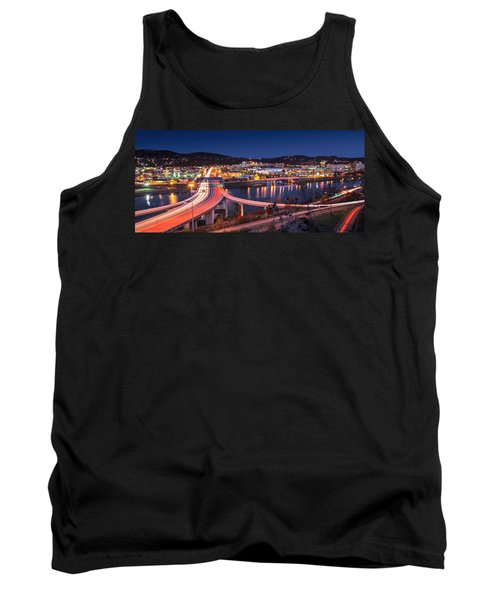 Charleston Wv At Night Tank Top