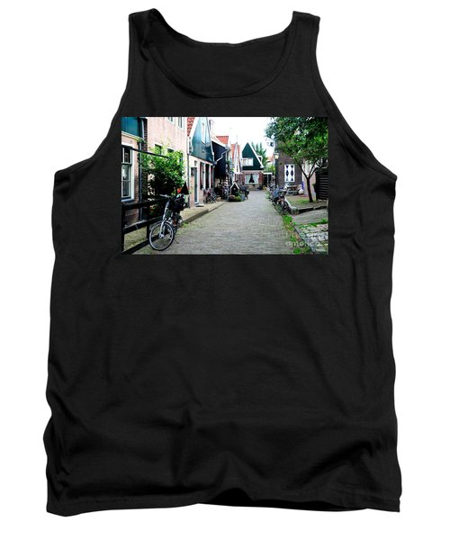 Tank Top featuring the photograph Charming Dutch Village by Joe  Ng