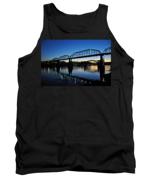 Tennessee River Bridges Chattanooga Tank Top