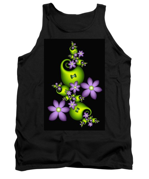 Tank Top featuring the digital art Cheerful by Gabiw Art