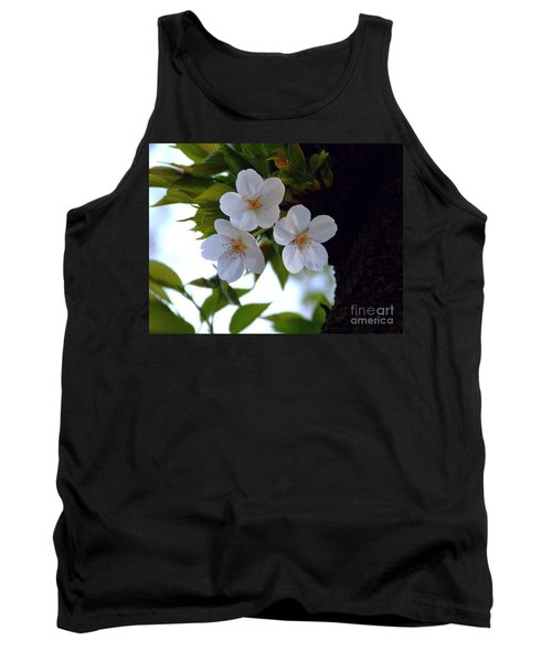 Tank Top featuring the photograph Cherry Blossom by Andrea Anderegg