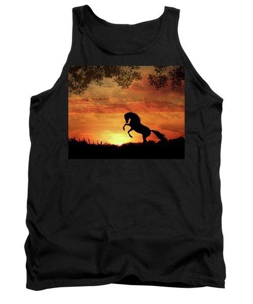 Chestnut Sunset Tank Top
