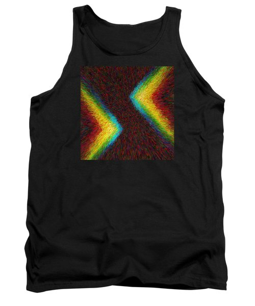 Chevron Double Rainbow C2014 Tank Top
