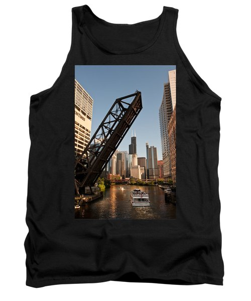 Chicago River Traffic Tank Top