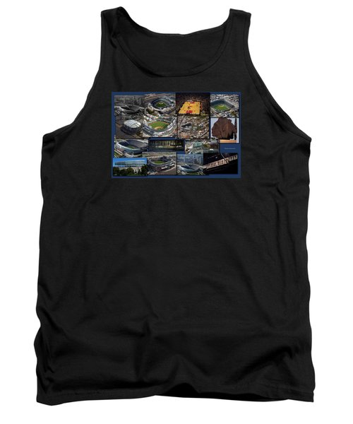 Chicago Sports Collage Tank Top by Thomas Woolworth