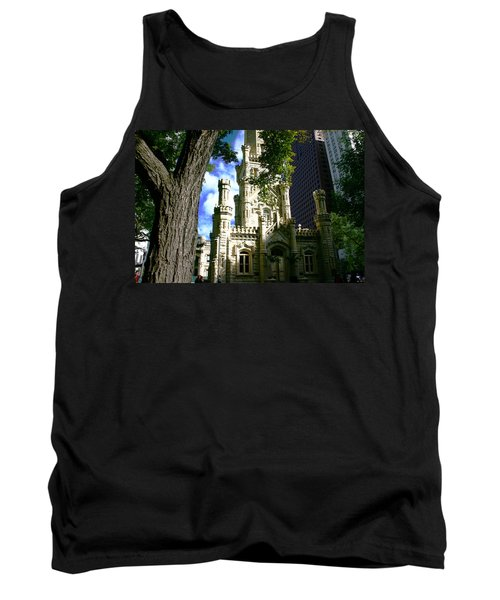Chicago Water Tower Castle Tank Top