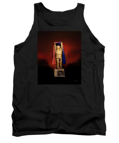 Chief Illiniwek University Of Illinois 06 Tank Top by Thomas Woolworth