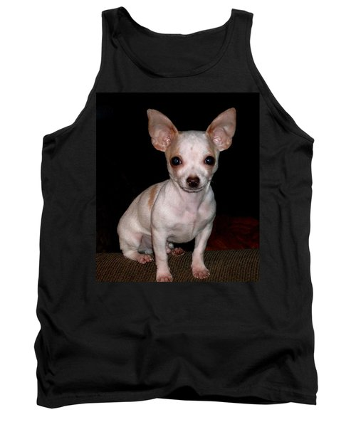 Chihuahua Puppy Tank Top by Maria Urso