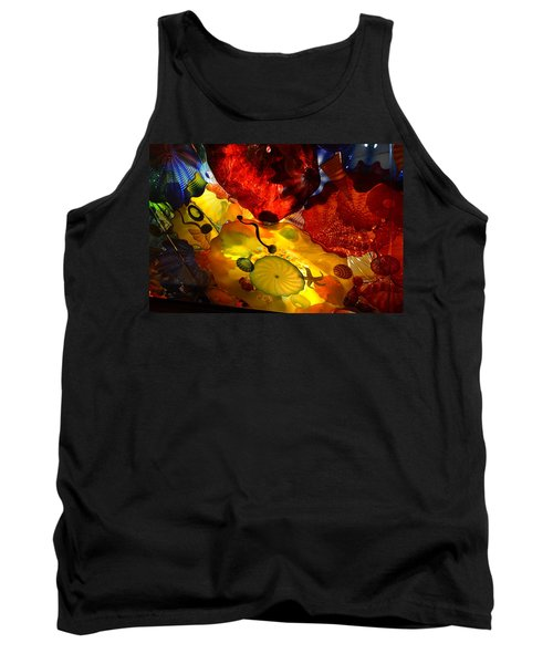 Chihuly-5 Tank Top by Dean Ferreira