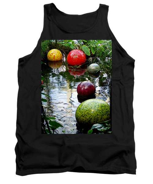 Chihuly Globes Tank Top