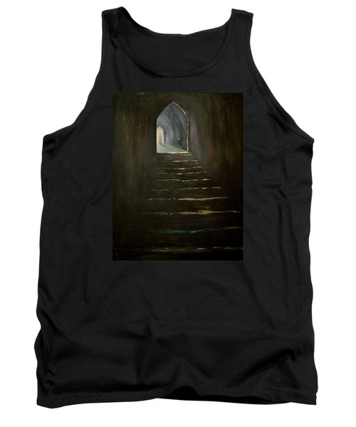 Tank Top featuring the painting Childhood Memories 1 by Jean Walker