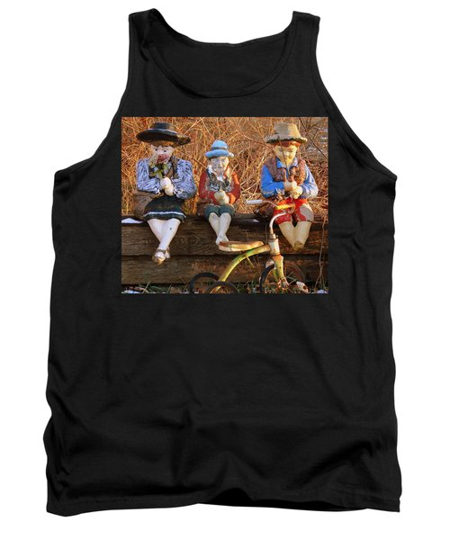 Tank Top featuring the photograph Childhood by Rodney Lee Williams