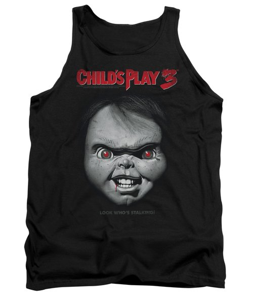 Child's Play 3 - Face Poster Tank Top