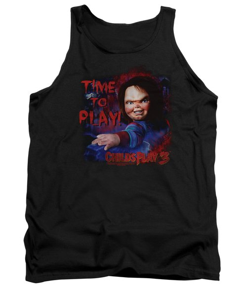 Childs Play 3 - Time To Play Tank Top