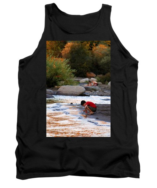 Tank Top featuring the photograph Childs Play by Melanie Lankford Photography
