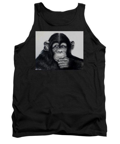 Chimp Tank Top by Jean Cormier