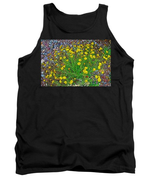 Chinchweed In Big Bend National Park-texas Tank Top