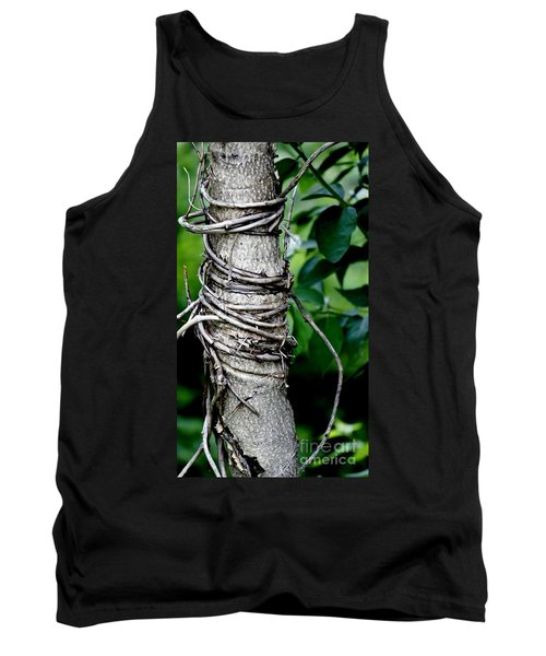 Tank Top featuring the photograph Choke by Lilliana Mendez