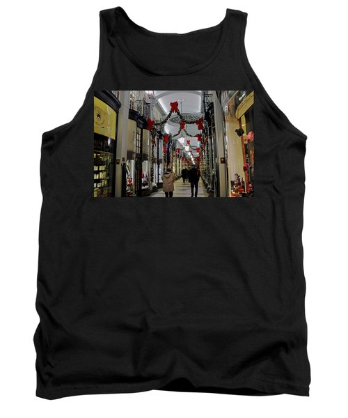 Christmas In Piccadilly Arcade Tank Top