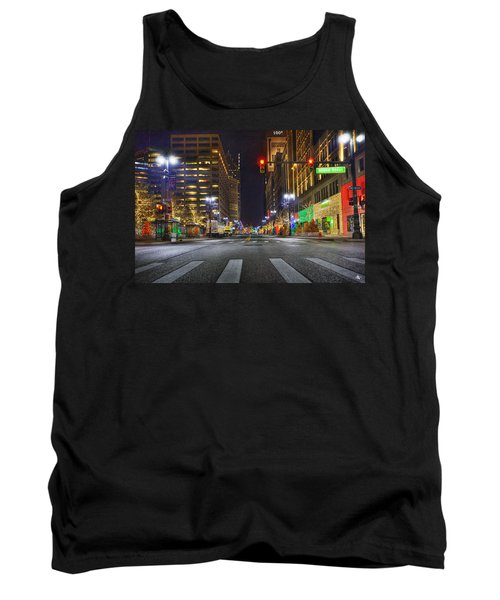 Christmas On Woodward Tank Top