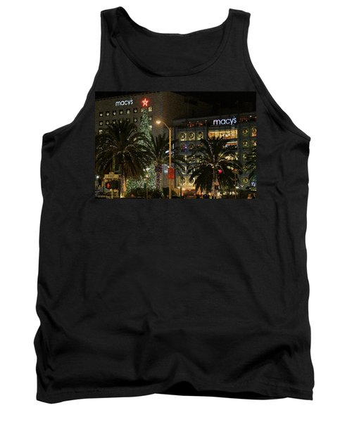 Christmas Tree At Union Square Tank Top