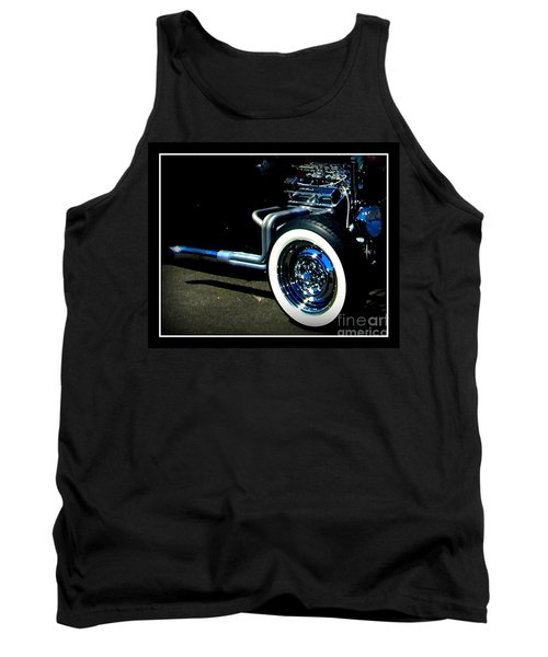 Tank Top featuring the photograph Chrome  by Bobbee Rickard