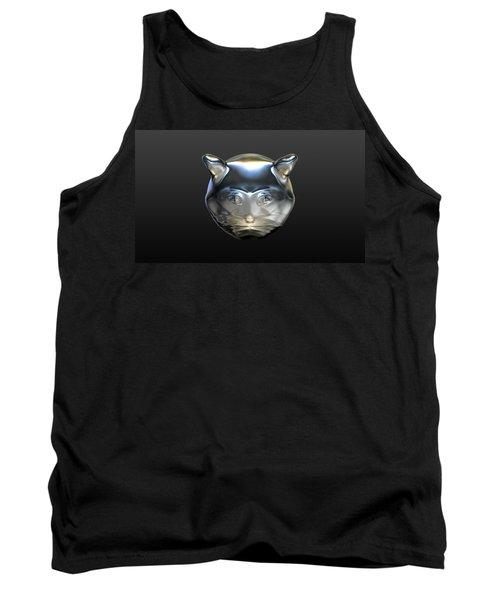 Chrome Cat Tank Top