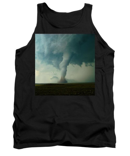 Churning Twister Tank Top by Ed Sweeney