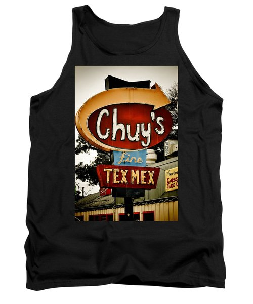 Chuy's Sign 2 Tank Top