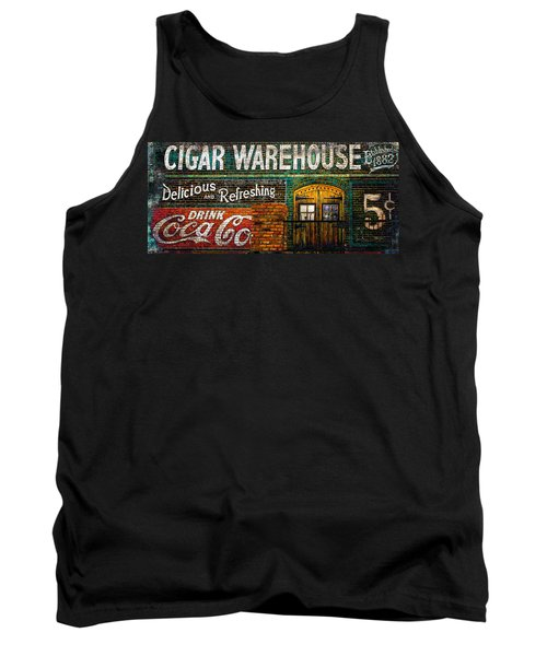 Cigar Warehouse Tank Top by Gray  Artus