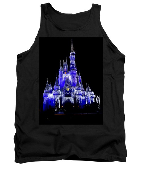 Cinderella's Castle Tank Top by Laurie Perry